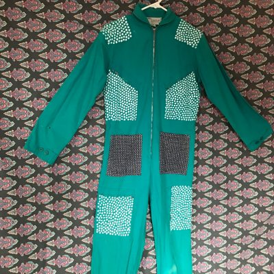 Vintage Hand Painted Jumpsuit