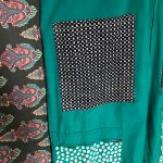 Vintage Hand Painted Jumpsuit With Many Pockets